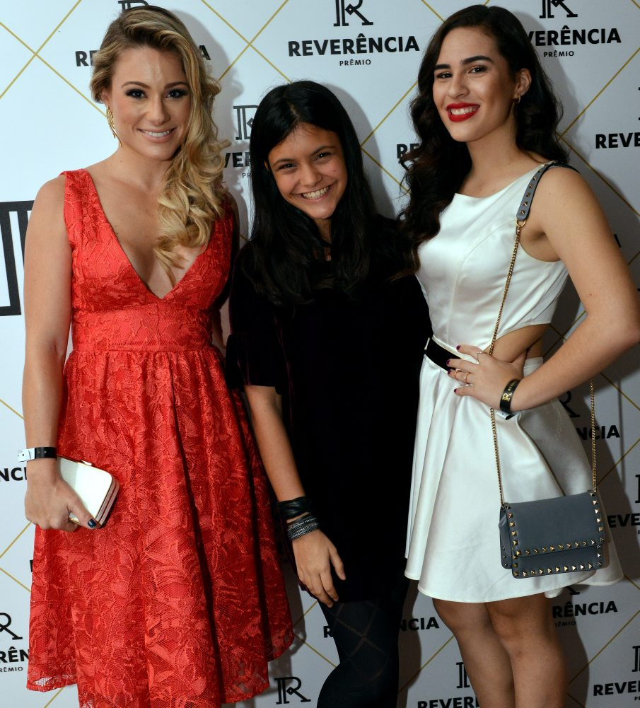 Giselle Prates, Joana Cardoso e Lívian Aragão - Foto: Cristina Granato