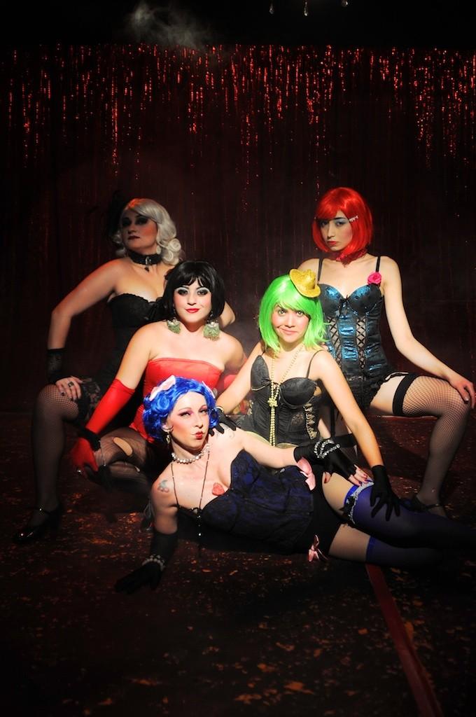 Priscila Labrocini, Karen Almeida, Camila Moura Melli, Bianca Camila e Cíntia Fer - Foto: Bob Sousa