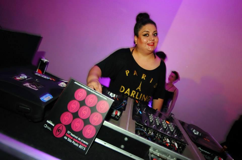 A DJ Flávia Durant também animou uma das festas do evento - Foto: Marcos Finotti/Divulgação