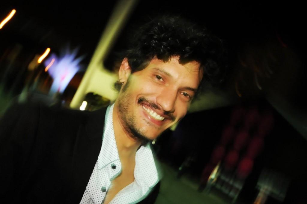 O ator Léo Kildare Louback, do filme Trago Seu Amor, também esteve no Festlatino - Foto: Marcos Finotti/Divulgação