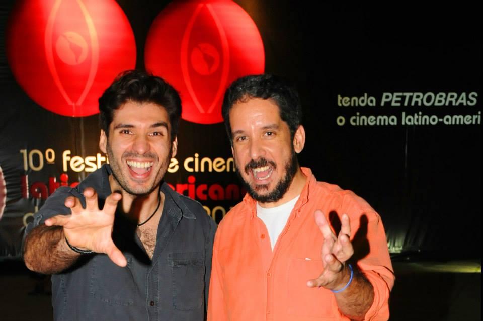 Marcos DeBrito e André de Campos Mello, diretores do filme Condado Macabro - Foto: Marcos Finotti/Divulgação