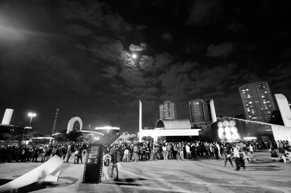 Cinema em festa: o Memorial da América Latina ficou agitado durante o Festlatino - Foto: Marcos Finotti/Divulgação