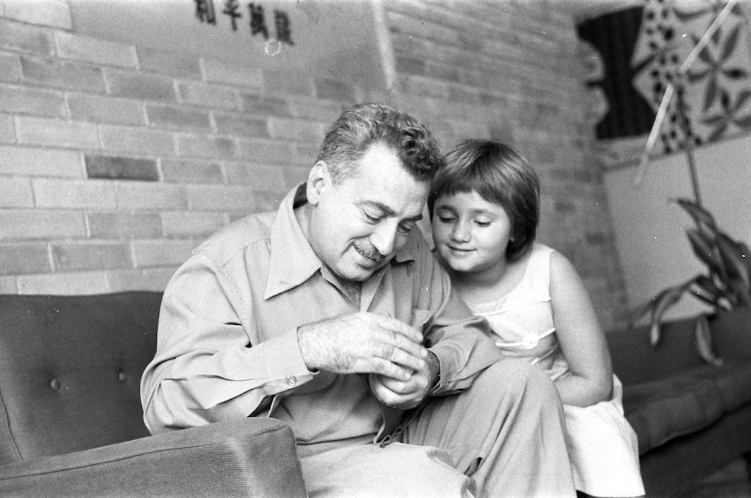 Jorge Amado e sua filha Paloma - Foto: Divulgação