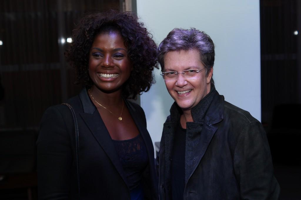 Adriana Alves e Kiko Mascarenhas - Foto: Roberto Ikeda