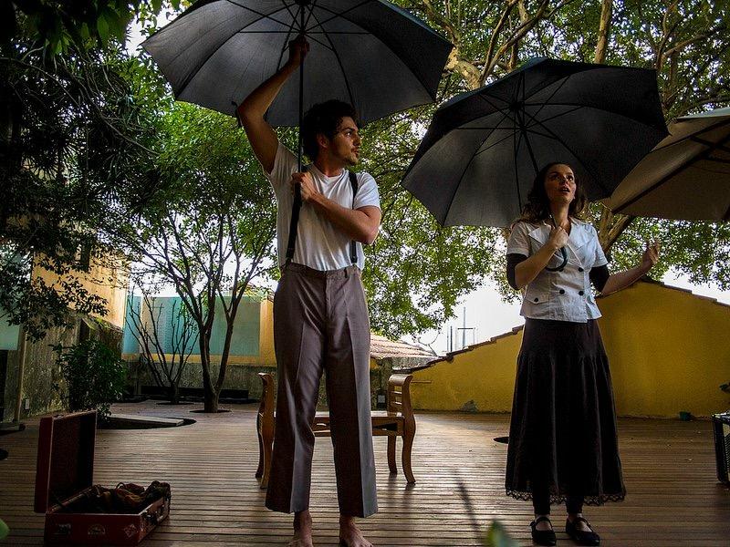 Marcos Reis e Letícia Tomazella em Simples Cidade: apresentação no Acre - Foto: Divulgação