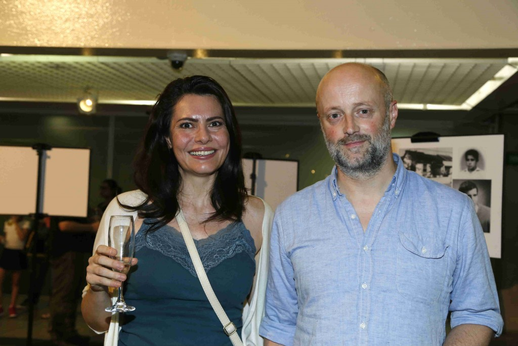 Cristina Cavalcanti e David Harrower - Foto: Everton Amaro