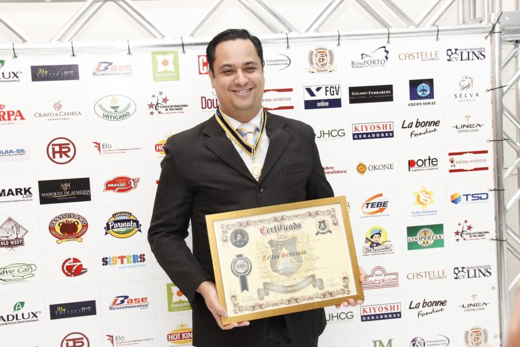 Carlos Pereira, da Tellos Sistemas, torna-se associado ao Clube do Empreendedor - Foto: Divulgação