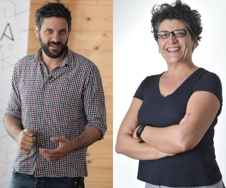 Calderon e Marici Salomão - Foto: Divulgação