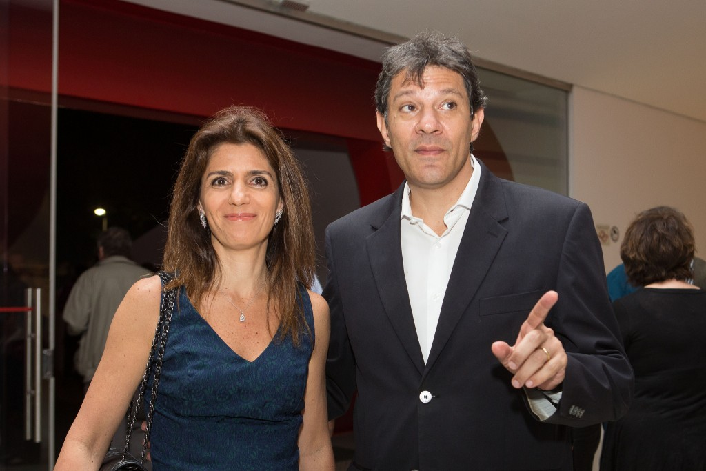 Ana Estela e Fernando Haddad - Foto: Aline Arruda/Divulgação