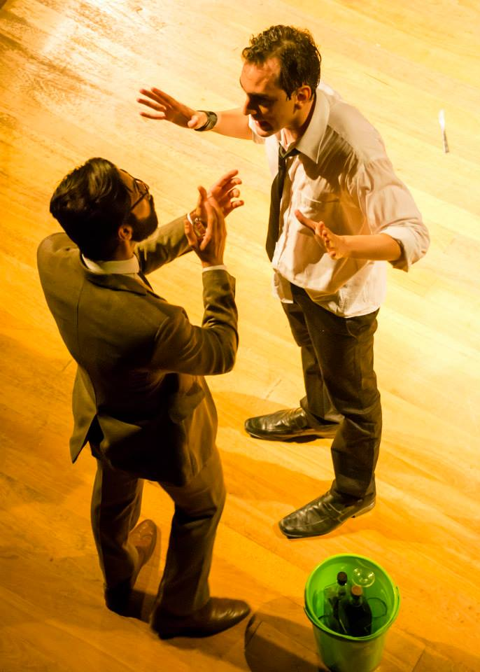 Cena da peça Abnegação, do grupo Tablado de Arruar, no 10º Fentepira - Foto: Rodrigo Alves