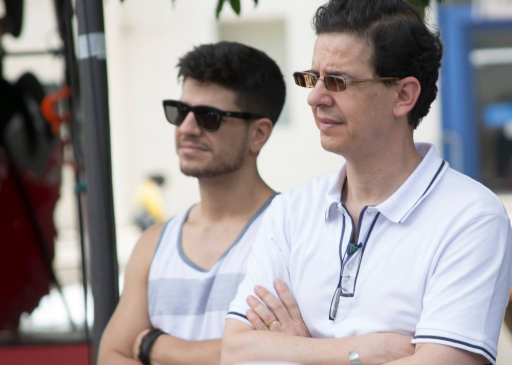 Valdir Rivaben (à direita, em primeiro plano): - Foto: Rodrigo Alves