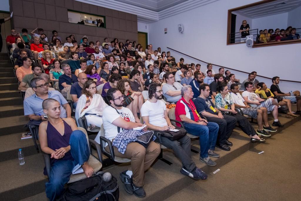 Público e participantes lotam seminário em Tiradentes - Foto: Jackson Romanelli/Universo Produção/Divulgação