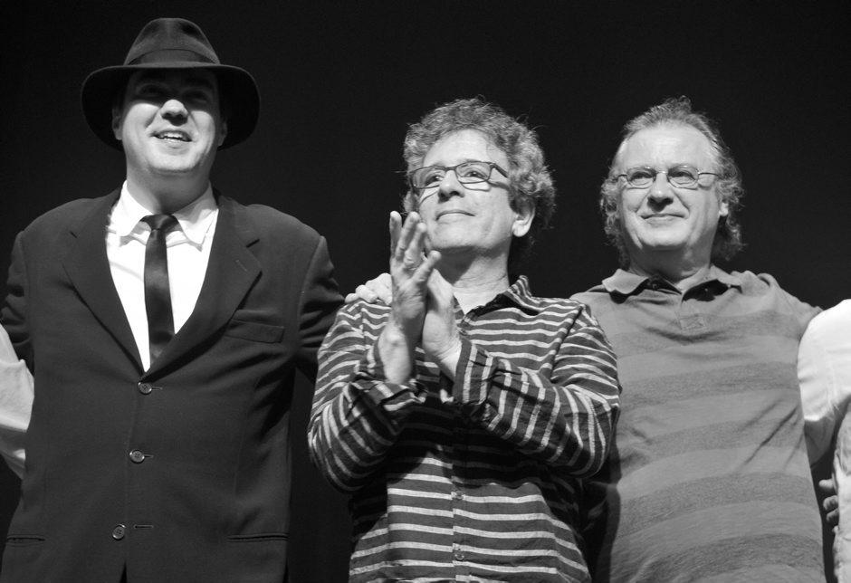 Daniel Jobim, Mario Adnet e Paulo Jobim - Foto: Cristina Granato/Divulgação