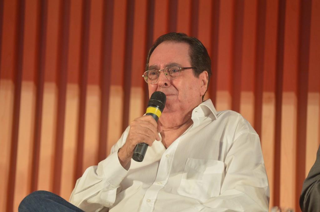 """Supervisor de Velho Chico, Benedito Ruy Barbosa disse: """"Odeio história de bicha"""" - Foto: João Miguel Jr./Globo"""