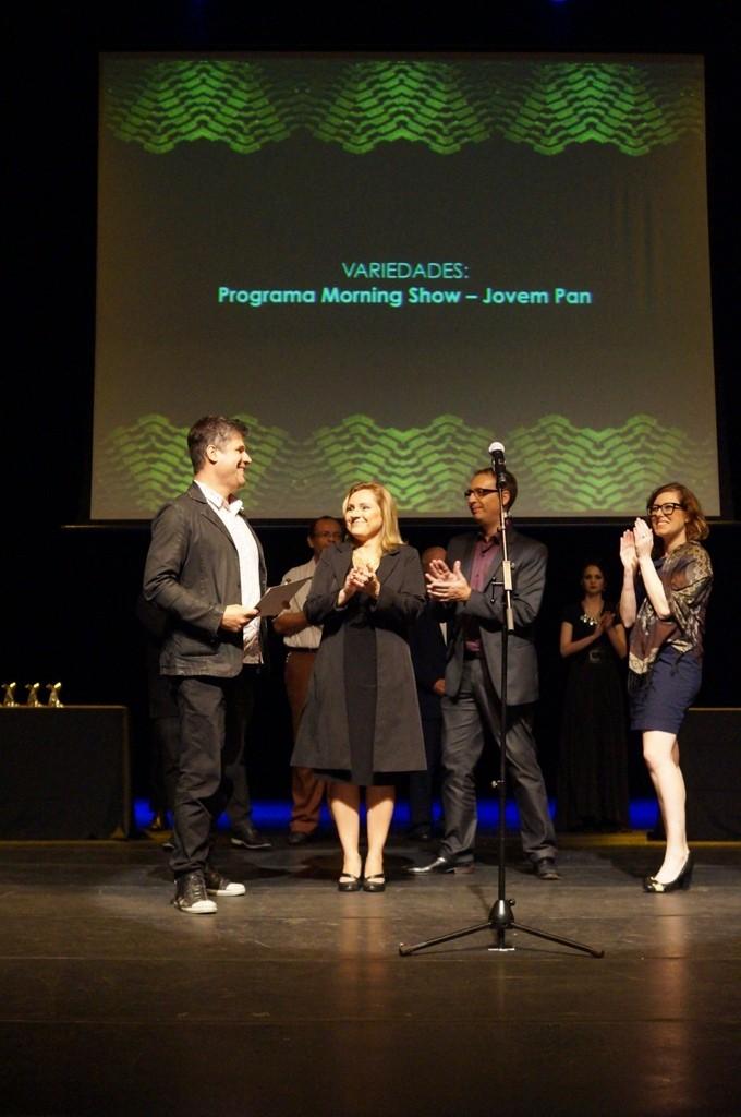 O programa Morning Show da Jovem Pan também foi premiado pela APCA - Foto: Roberto Ikeda/Divulgação