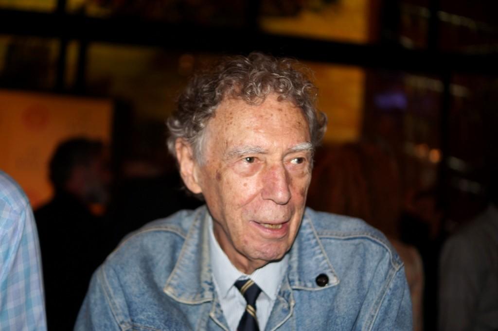 O diretor Antunes Filho, que recebeu homenagem - Foto: Roberto Ikeda/Divulgação
