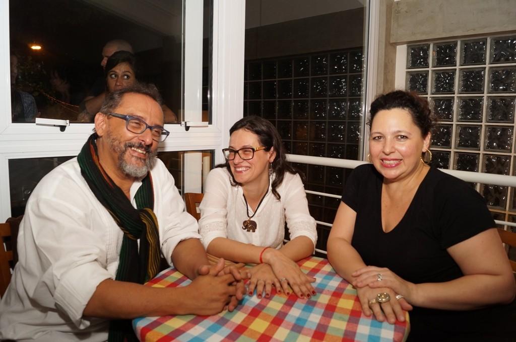 Dagoberto Feliz, Silvia Deon e Silmara Deon - Foto Roberto Ikeda/Divulgação