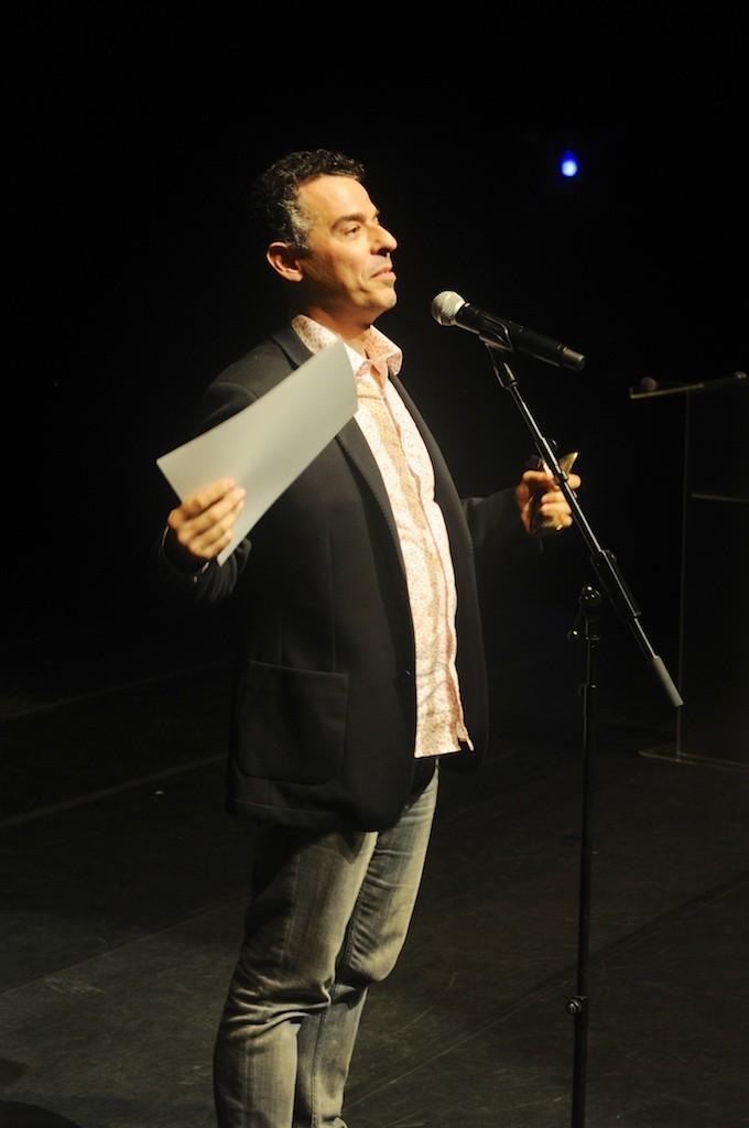 Gustavo Gasparani, melhor ator por Ricardo III - Foto: Bob Sousa