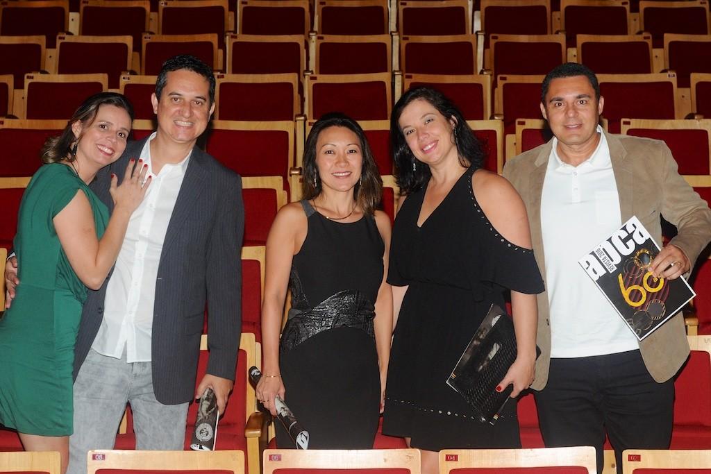 Cláudia e Luiz Spexoto, Daniela Hamazaki Sousa, Elaine Borovec e Alexandre Polli - Foto: Bob Sousa