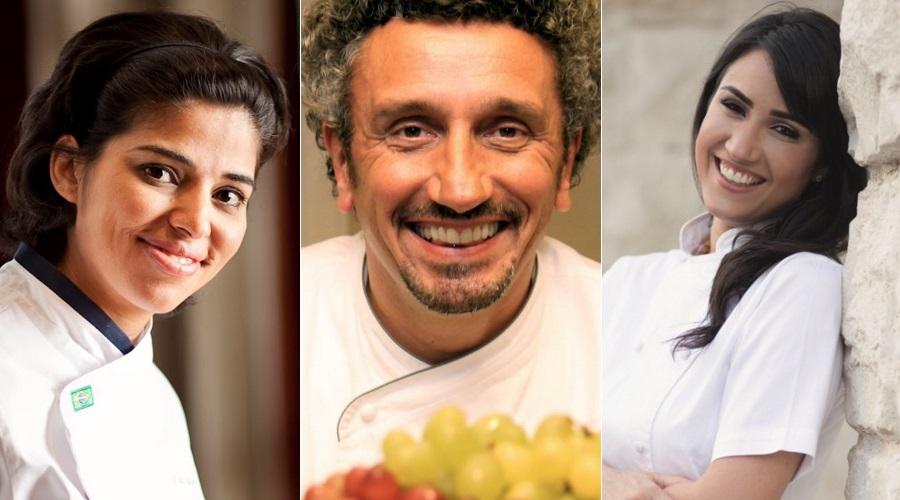 Ana Luíza Trajano, Emmanuel Bassoleil e Lia Quinderé estão confirmados no Gastronomix do Festival de Teatro de Curitiba - Foto: Divulgação
