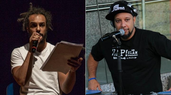 Jé Oliveira e Eugênio Lima: opiniões distintas sobre a presença do negro na MITsp - Fotos: André Murrer e Leonardo Rogério/Divulgação