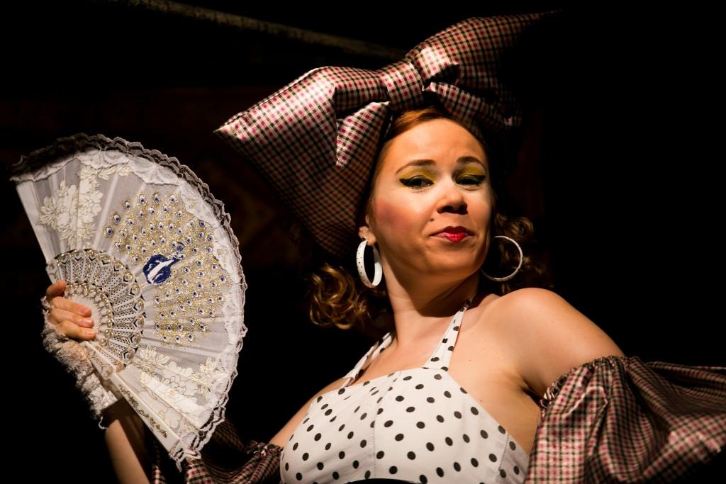 A atriz Sandra Modesto - Foto: Annelize Tozetto/Clix