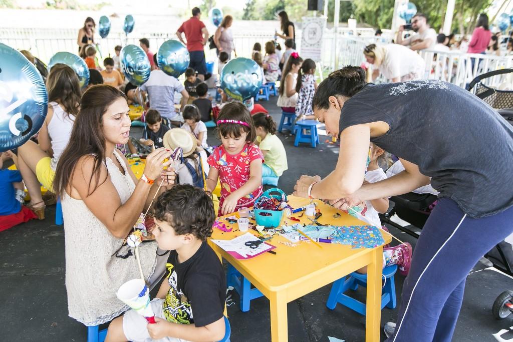 As crianças também puderam se divertir - Foto: Diego Pisante/Clix