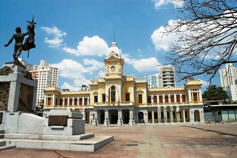Prédio da Estação Central de Belo Horizonte, onde funciona o Museu de Artes e Ofícios - Foto: Markito/Divulgação