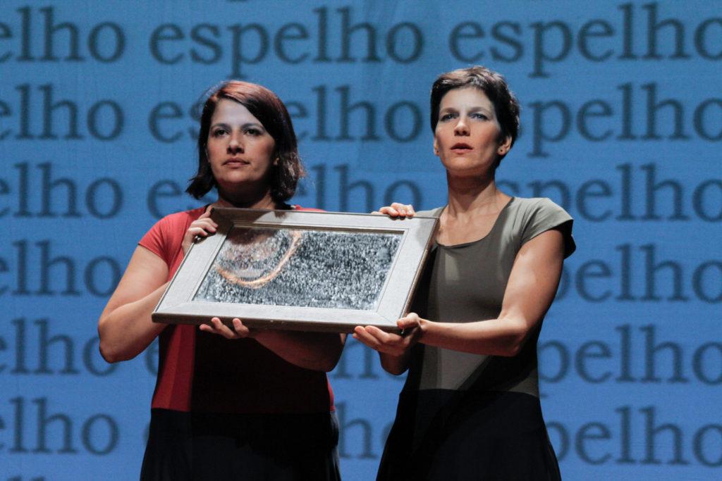 Mônica Rodrigues e Fernanda Azevedo em Carne - Foto: Divulgação