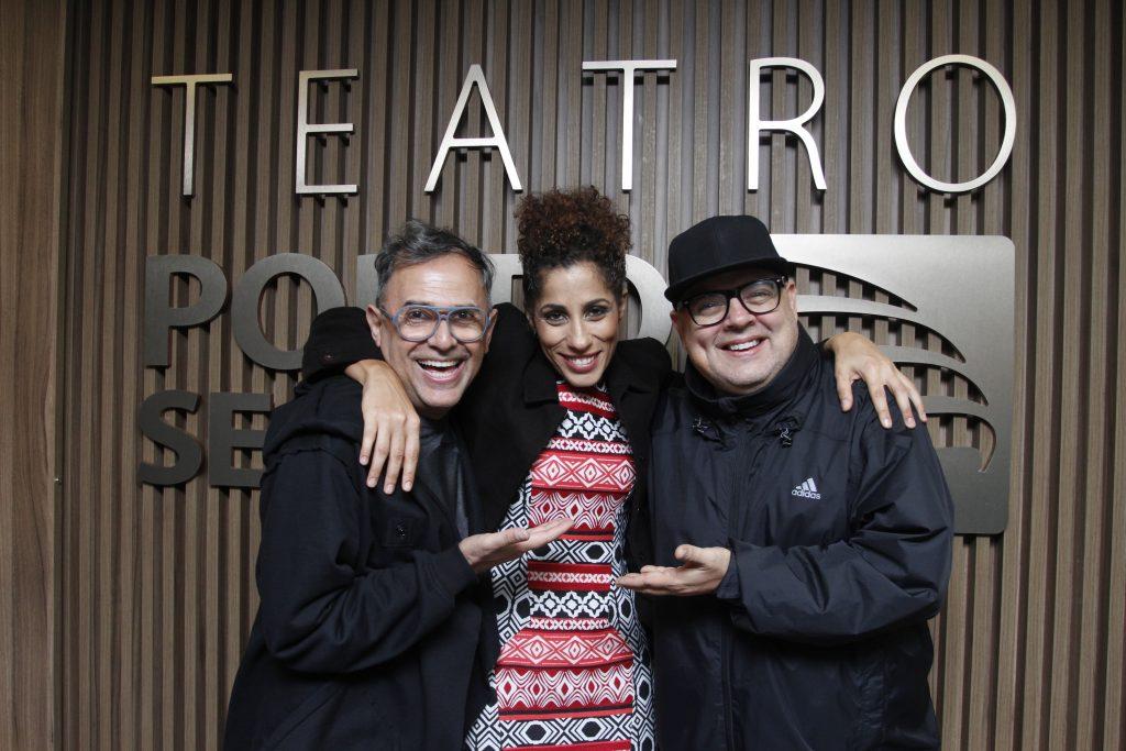 Paulo Borges, Marcia Castro e DJ Zé Pedro - Foto: Paduardo/Phábrica de Imagens/Divulgação