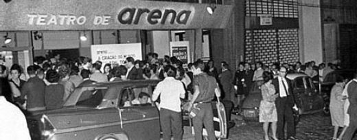 Teatro de Arena durante a ditadura: tempos difíceis - Foto: Divulgação
