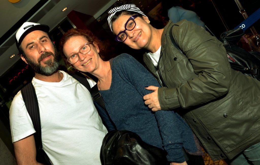 Danilo Grangheia, Marcia Rubim e Inez Viana- Foto: Cristina Granato/Divulgação