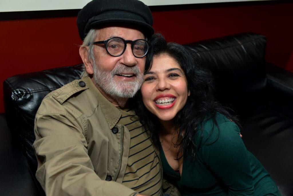 Paulo José e Lydia Del Picchia - Foto: Cristina Granato/Divulgação