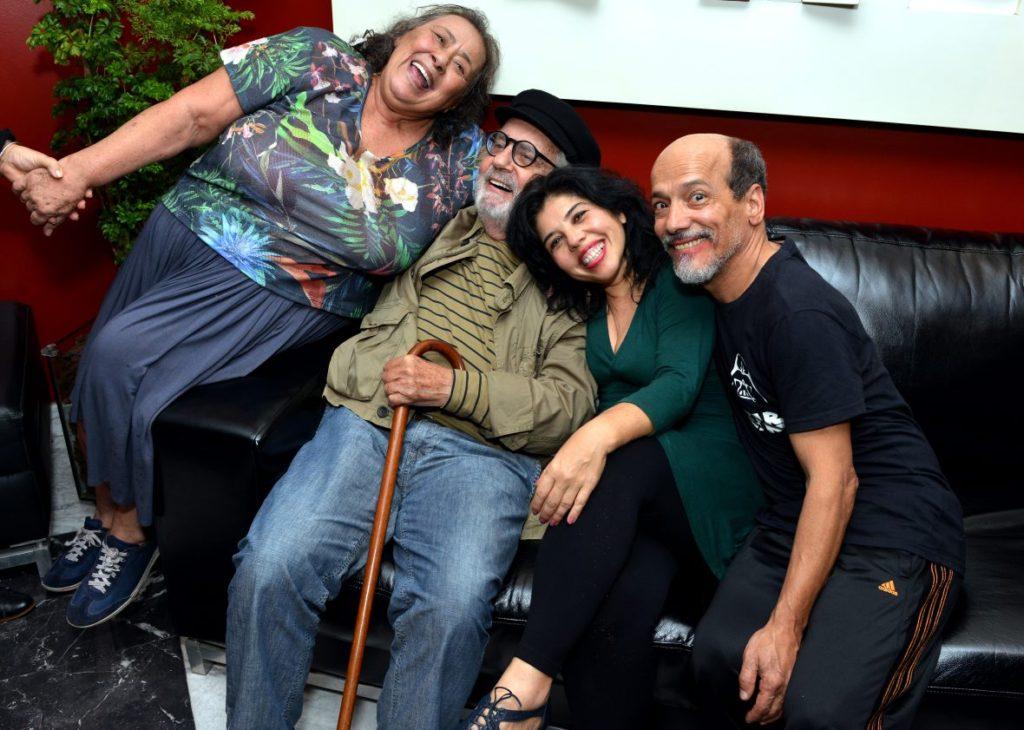 Teuda Bara, Paulo José, Lydia Del Picchia e Antonio Edson - Foto: Cristina Granato/Divulgação