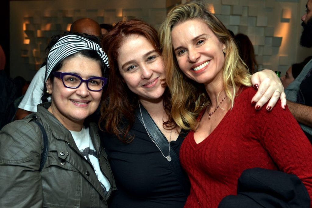 Inez Viana, Debora Lamm e Paula Burlamaqui - Foto: Cristina Granato/Divulgação