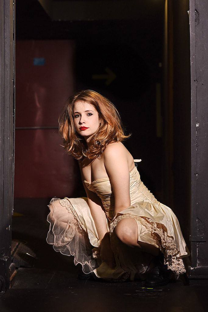 A atriz Nara Mendes - Foto: Bob Sousa