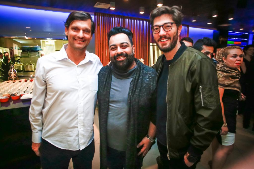 André Sturm, Marco Griesi e Marco Rangel - Foto: Edson Lopes Jr.