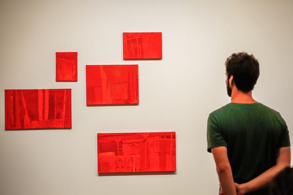 Público confere a exposição - Foto: Edson Lopes Jr.