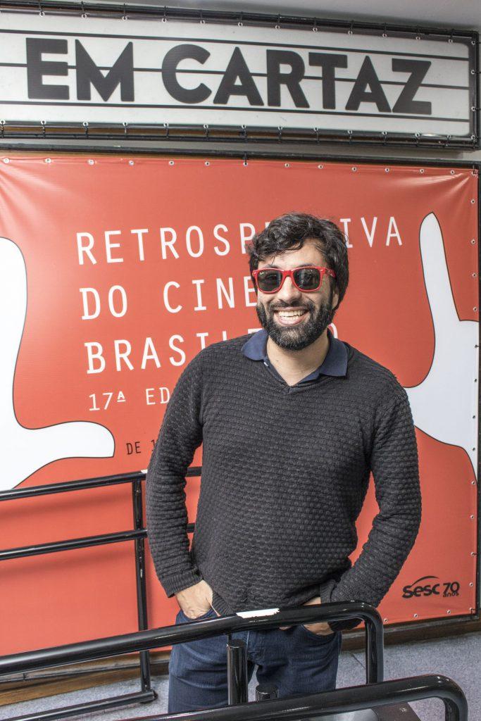 O cineasta Lufe Steffen - Foto: Alf Ribeiro