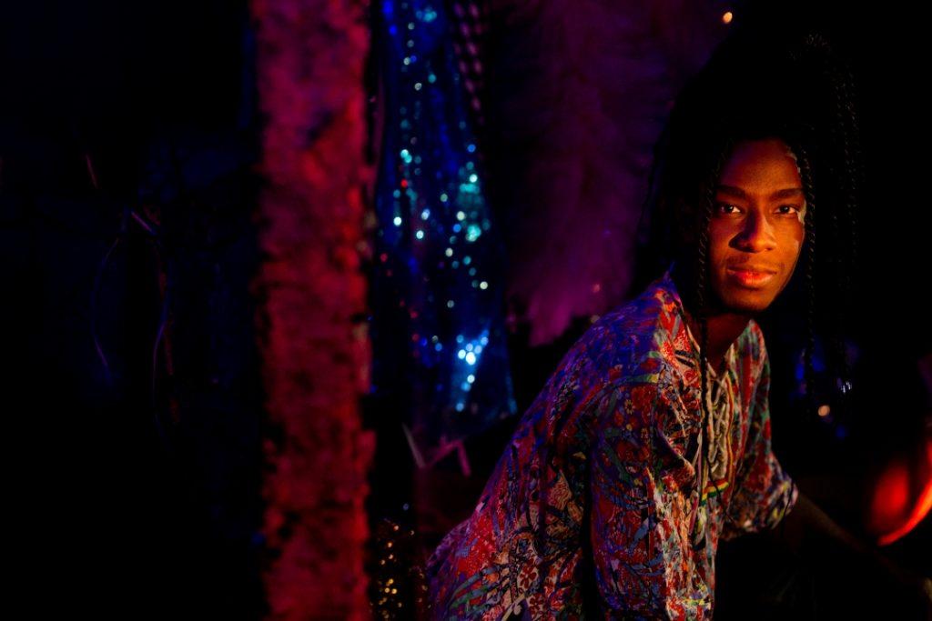 André Lu, Muso do Teatro do Blog do Arcanjo - Foto: Annelize Tozetto - Blog do Arcanjo