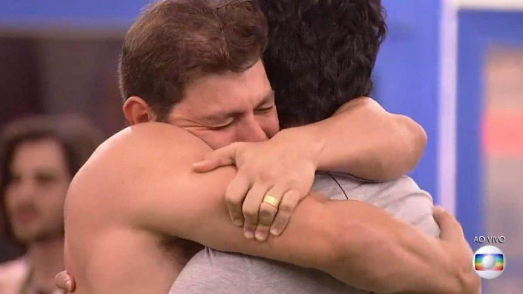 """Caio e Rodolffo no BBB21: """"Deu match"""", diz o sertanejo - Foto: Reprodução/Globo - Blog do Arcanjo 2021"""