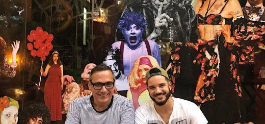 Ivam Cabral e Thiago Mendonça no Satyros: Uma Peça para Salvar o Mundo - Foto: Andre Stefano/Divulgação - Blog do Arcanjo 2021