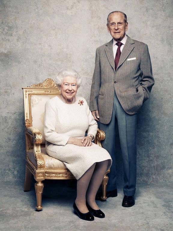 Rainha Elizabeth e Príncipe Philip - Foto: Divulgação @theroyalfamily - Blog do Arcanjo 2021