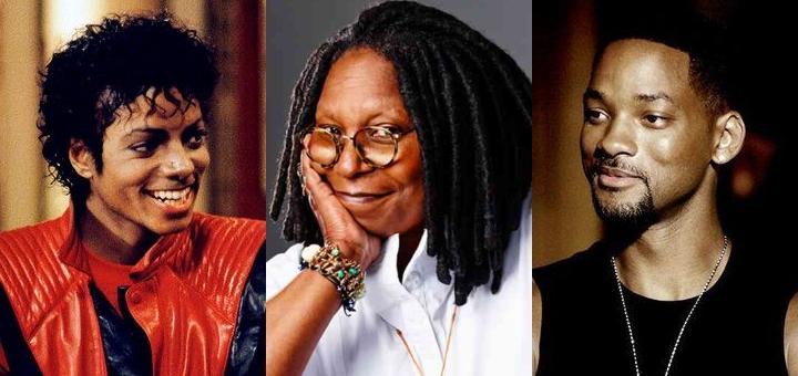 Michael Jackson, Whoopi Goldberg e Will Smith: referências para o ator Gui Leal - Fotos: Divulgação - Blog do Arcanjo