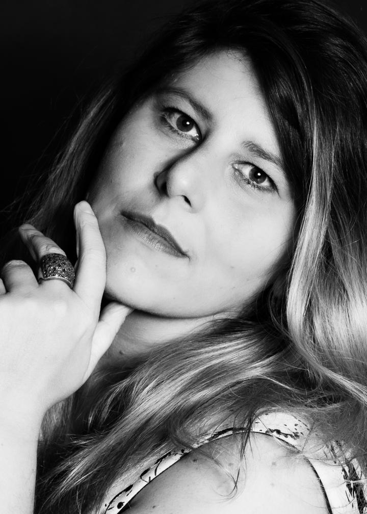 A atriz Vanessa Goulartt em retrato de Bob Sousa para o Blog do Arcanjo