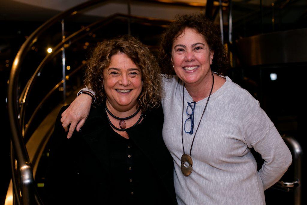 Célia Forte e Selma Morente, da Morente Forte: 36 anos de dedicação absoluta ao teatro brasileiro - Foto: Annelize Tozetto - Blog do Arcanjo