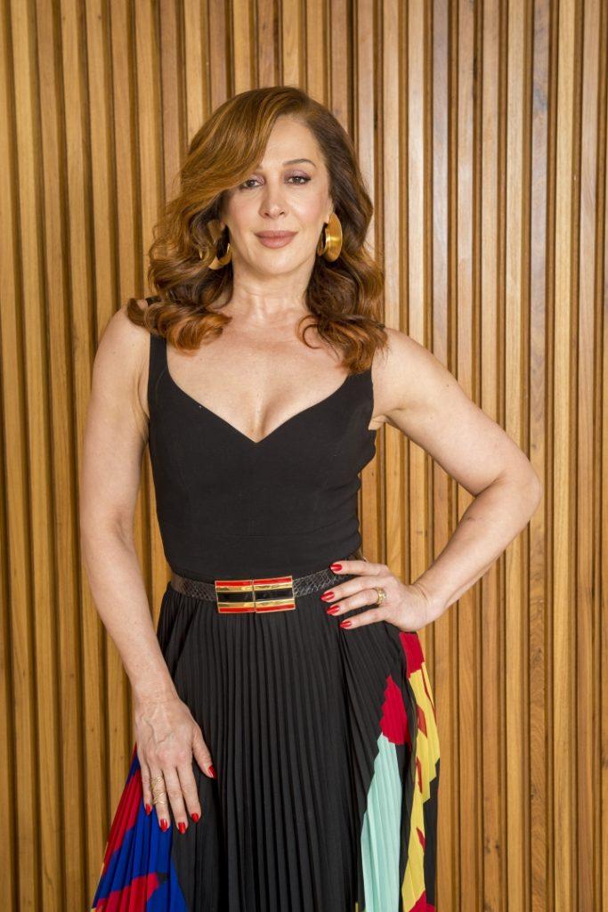 Claudia Raia está no júri do Show dos Famosos do Domingão com Huck na Globo - Foto: João Cotta/Divulgação - Blog do Arcanjo
